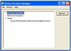 device emulator manager