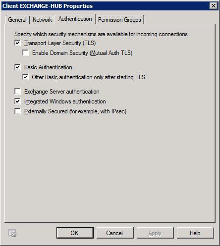 Client Exchange Authentication