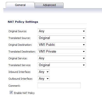 NAT Policy 2