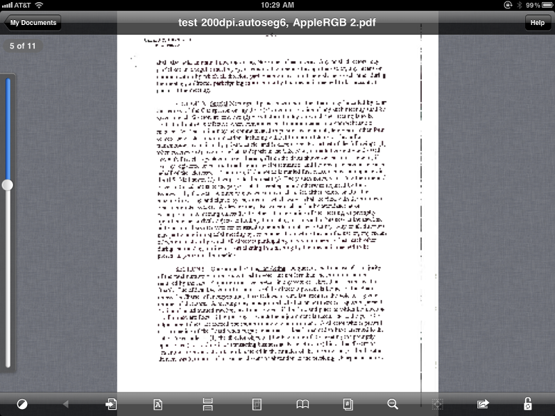 Page 5, text is garbled