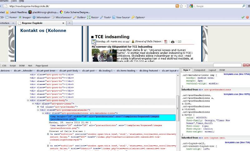 How to use the HTML window to localize where to edit