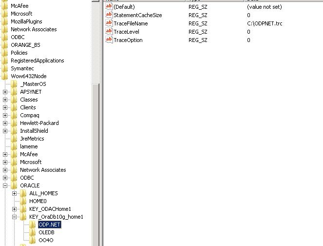 ORACLE IN ORADB10G HOME1 WINDOWS 7 X64 TREIBER