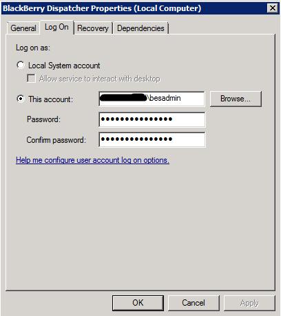Blackberry Dispatcher