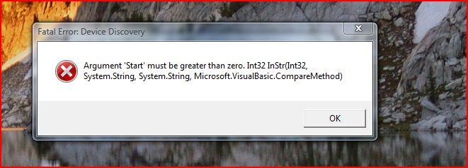 seagate error