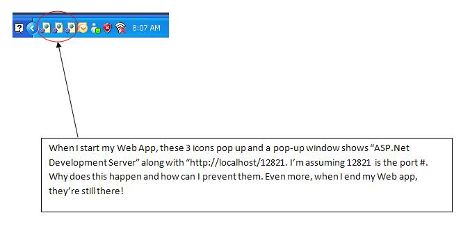 Screenshot of Icons