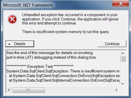 .net error