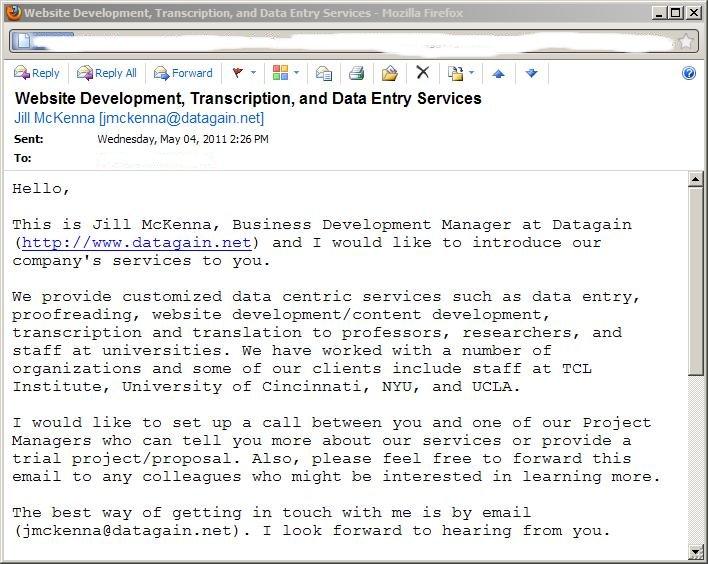 OWA in Firefox 4.x Message open