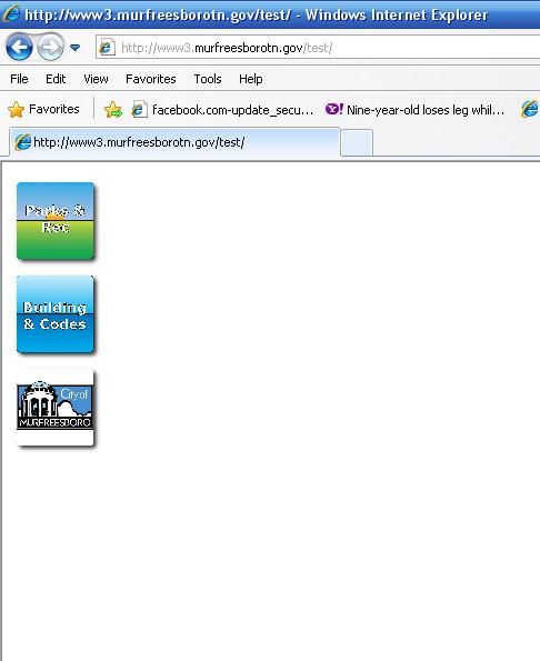 Screenshot fro IE8