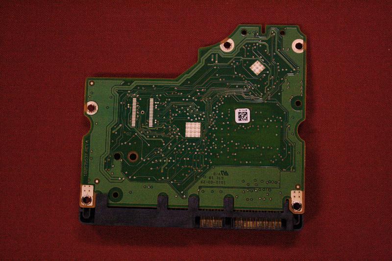 Back of PCM board.