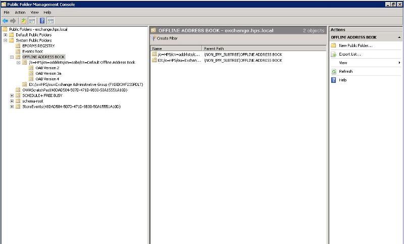 PublicFolder Toolbox