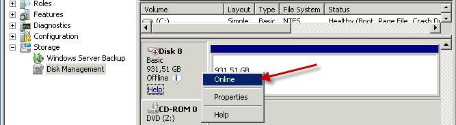 Attach USB disk to a Hyper-V 6