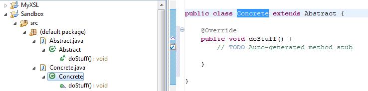 Java Package Explorer
