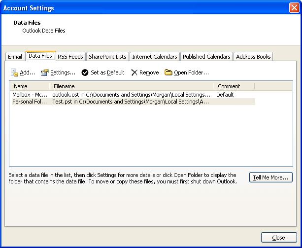 Files/Delivery settings