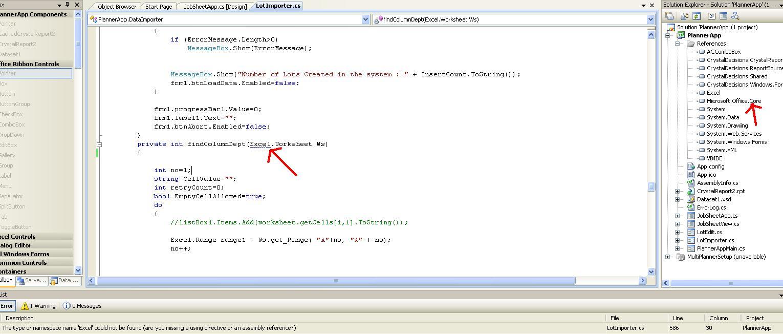 Excel Worksheet Namespace Rcnschool