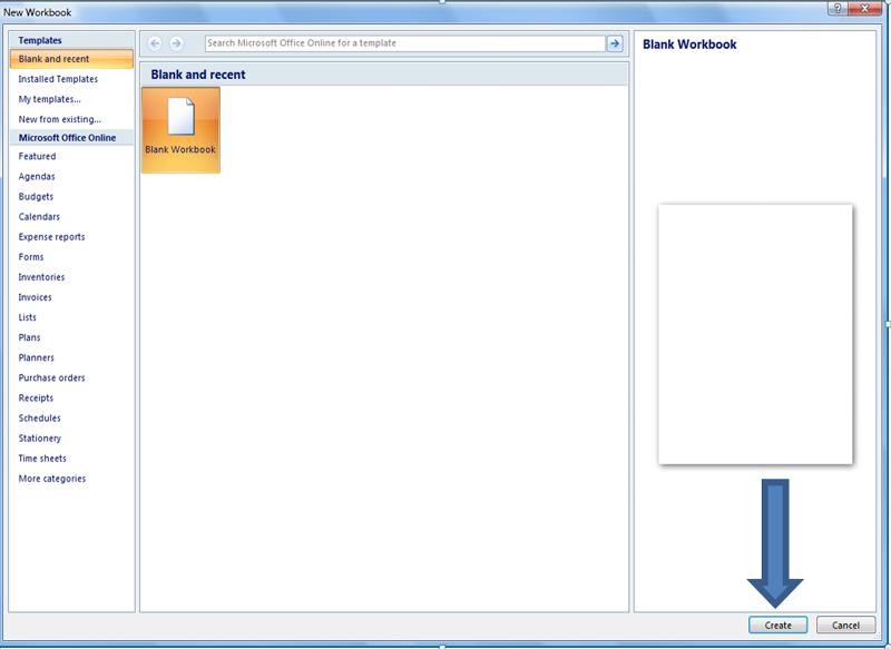 Add a new/existing workbook