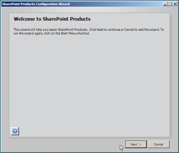 SharePoint Wizard 1