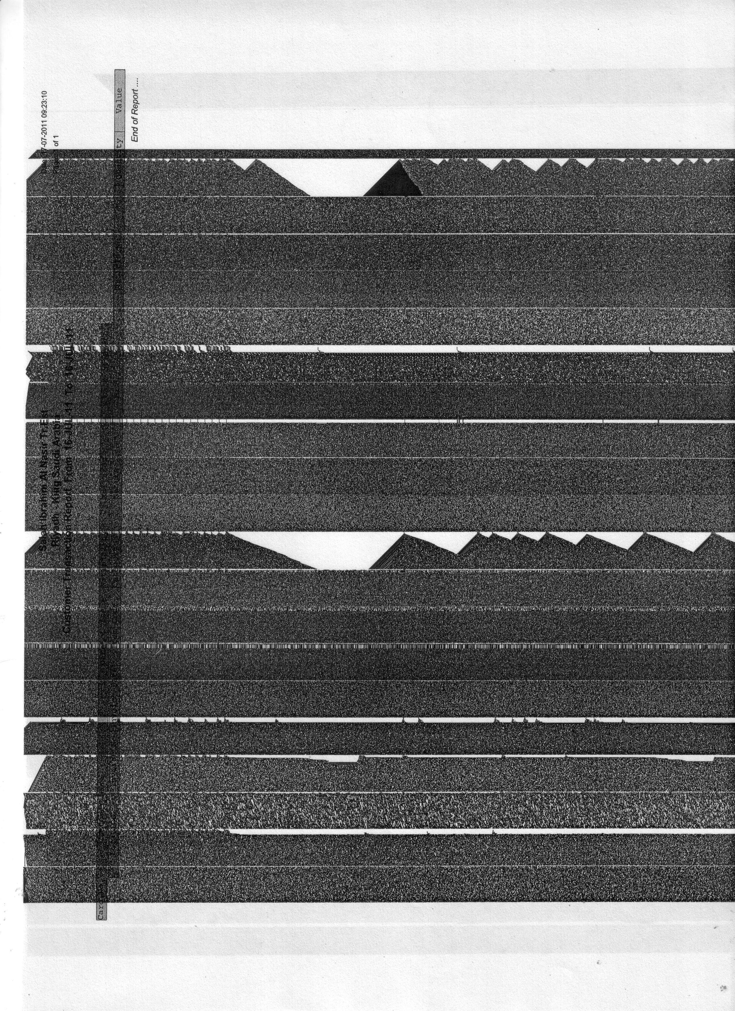 HP Laserjet P2055 Printer - prints horizontal bars on the