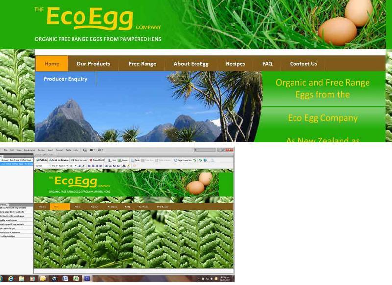 Eco composite image