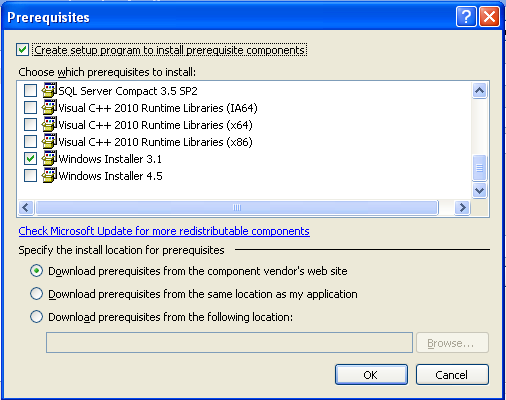 Installation prerequisites 3
