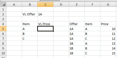 VLookup Data