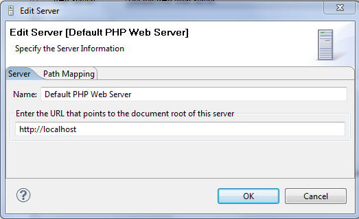 My PHP server