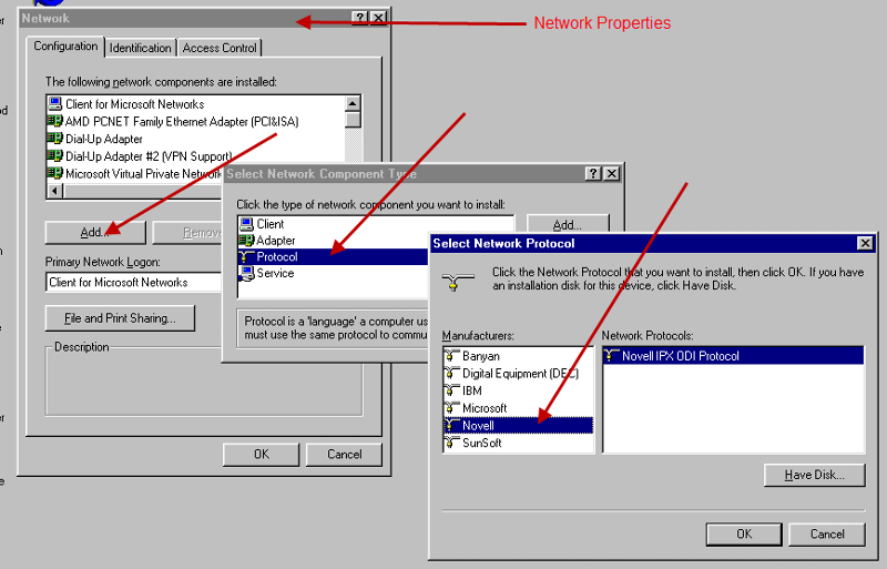 Windows95NetworkProperties