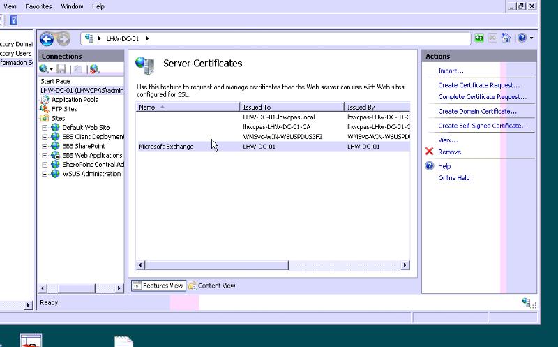 Server Cert
