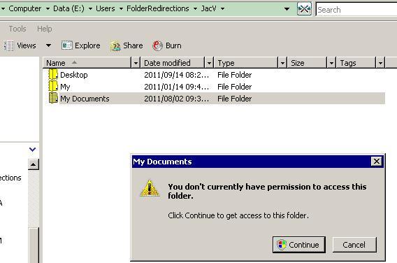 Permission Error