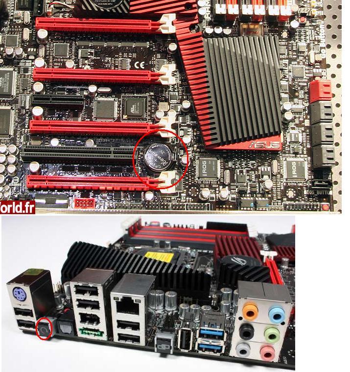 Rampage III CMOS Reset