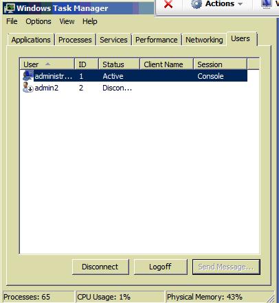 Server2008 (console)