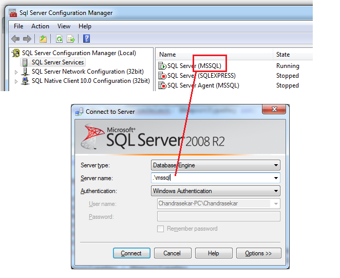 Mssql Connection Error
