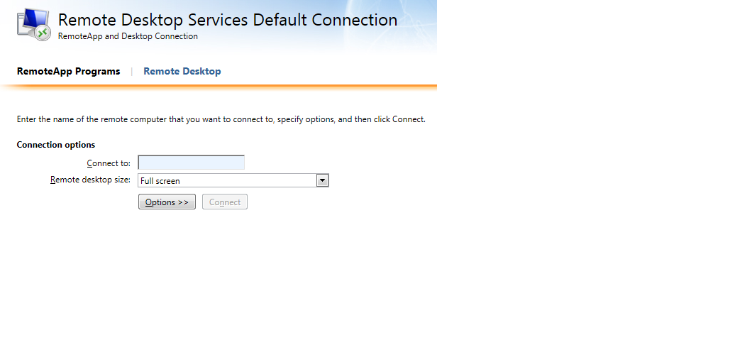 SOLUTION] Disable Remote Desktop on RD Web Access