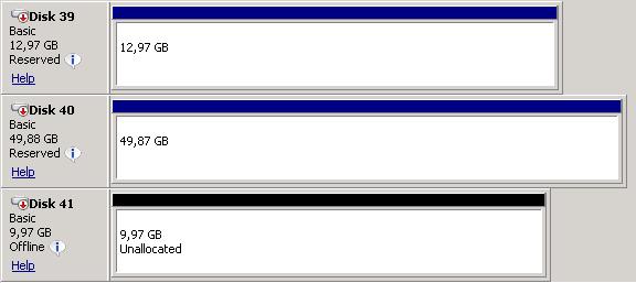 Basic Offline Disk