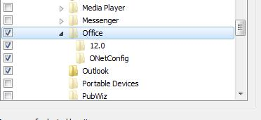 I found the files path in outlook and it is selected