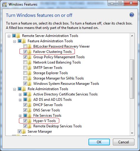 Adding Windows Features