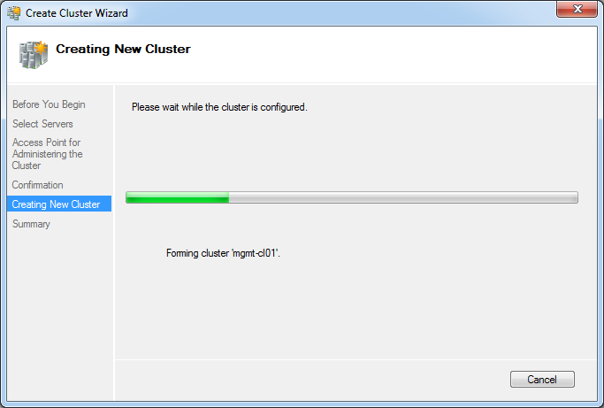 Creating Cluster