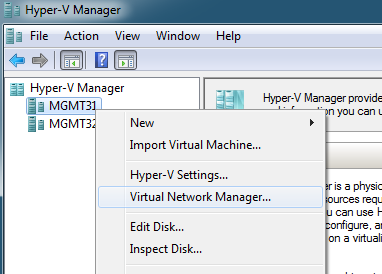 Virtual Network Manager