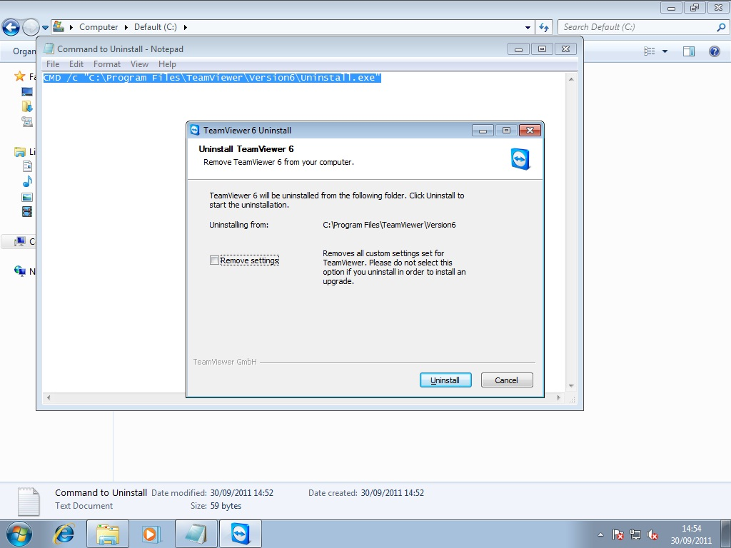 Uninstall of Firefox from client using SCCM