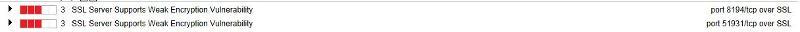 Server 2008 Scan results