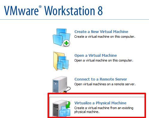 VMware Workstation 8.0 - includes VMware Converter installation
