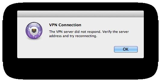 VPN-error