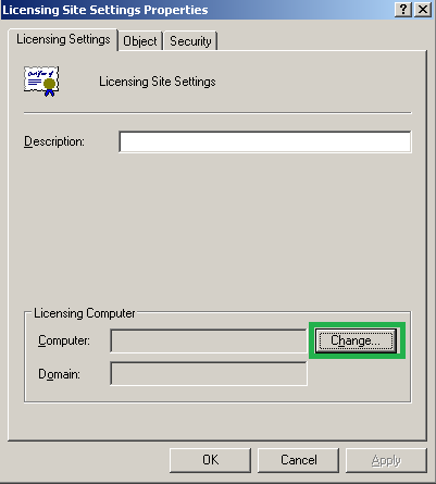 Licence server