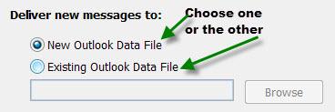 Choose Data File
