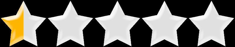 one half star