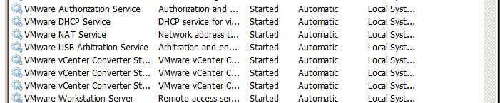 VMware-Services