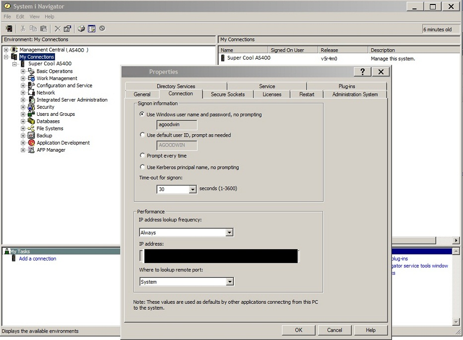 SOLUTION] iSeries Access for Windows 7 1 Login in XenApp