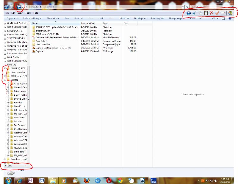 Windows 7 Windows Explorer Modified Using Classic Shell Classic Explorer Screen Clipping Demo.