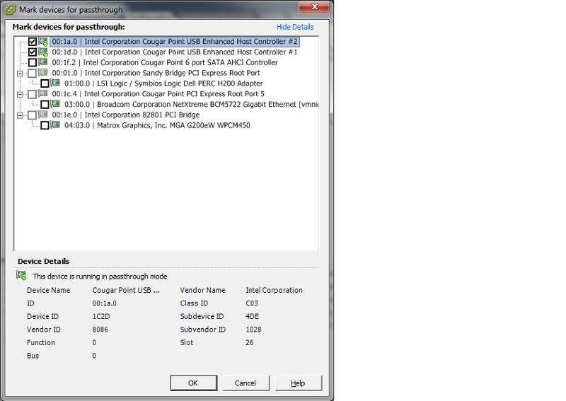 usb hosts options