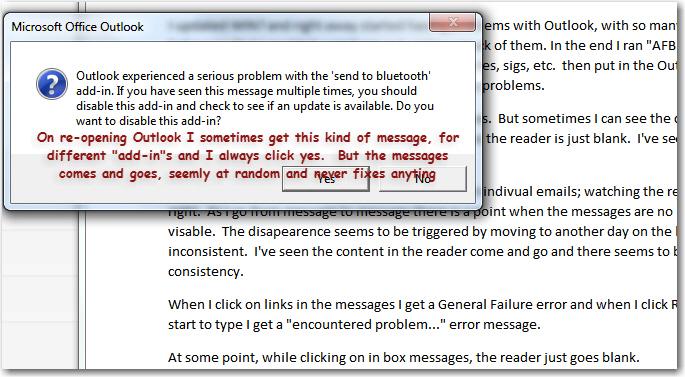 Serious problem error