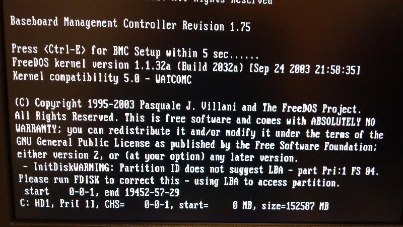 BIOS Upgrade